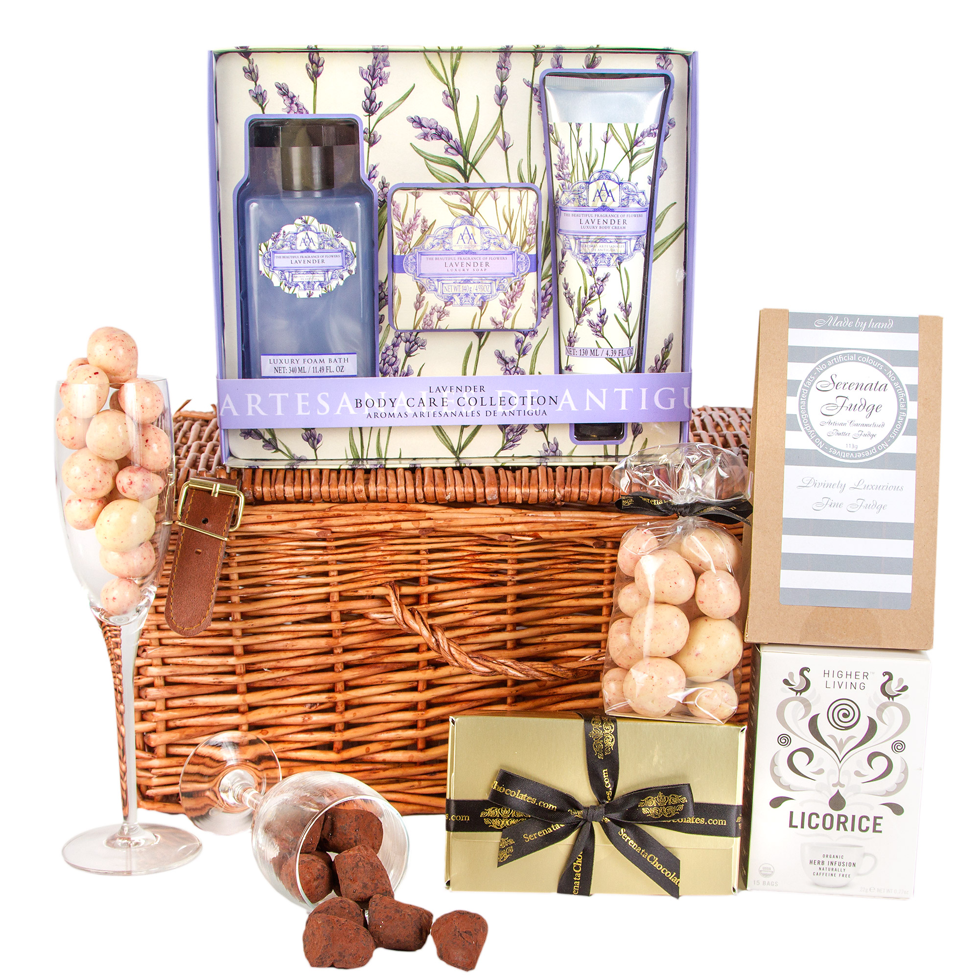 Lavender Pamper Hamper for Women