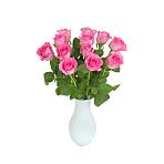 A Dozen<br /> Pink Roses Giftwrap