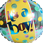 Baby Boy Sock Cupcake Gift Box