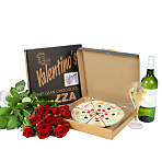 What a Woman Wants - Roses, Pizza & a Bottle of White