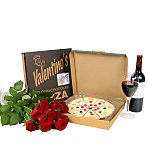 What a Woman Wants - Roses, Fruity Pizza & a Bottle of Red