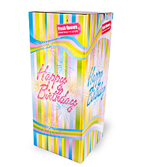 Happy Birthday box - large