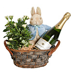 Peter Rabbit Champagne Basket