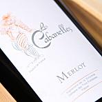 2013, Les Cabanelles Merlot, Vicomte x 1