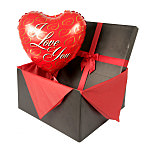 I Love You balloon in giftbox