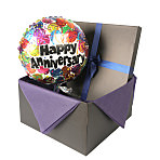 Anniversary balloon in giftbox