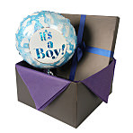 Its a Boy-Foot Prints balloon in giftbox