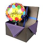 Congratulations balloon in giftbox