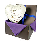 Wedding Day balloon in giftbox