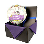 Just Married balloon in giftbox