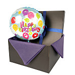 Birthday Happy balloon in giftbox