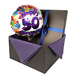 50th Birthday balloon in giftbox
