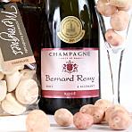 Rose Petal Pamper Hamper with Pink Champagne