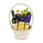 Gift Basket with Ginger and Lime Ha...