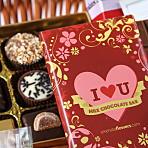 I Heart U Chocolate Hamper