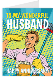 To my wonderful husband