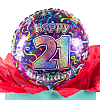 21st Birthday Balloon Gift