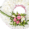 Traditional Pink Wreath