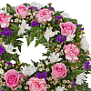 Classic Pink Wreath