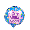Mini Get Well balloon - on a stick