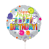 Mini Birthday balloon - on a stick