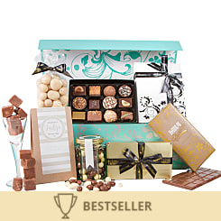 The Chocolate Hamper - Flowers