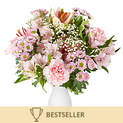 Pink Letterbox Flowers - Hampers