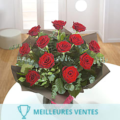 12 Roses Rouges - Flowers
