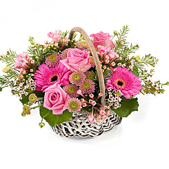 Secret Garden Basket - Flowers