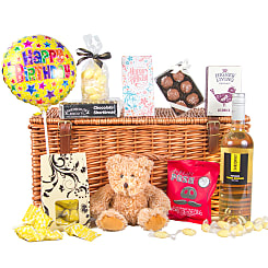 Birthday Indulgence Hamper - Flowers