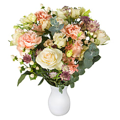 Peach Letterbox Flowers - Hampers