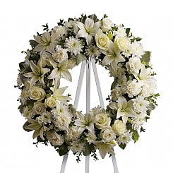 Serenity Wreath - Flowers