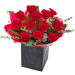 Dozen Red Roses - Hampers