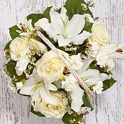Loving Memory Basket - Flowers