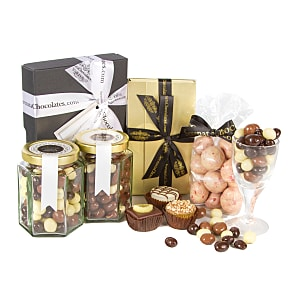 Flower bouquet Heavenly Chocolate Gift Box