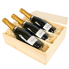 Gift delivery English Sparkling Wine Trio
