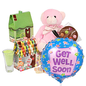 Gift delivery Girls Get Well Girls Box