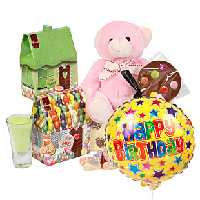 Gift delivery Girls Happy Birthday Gift Box