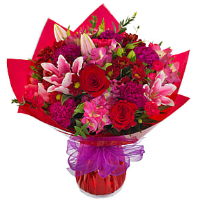 Flower bouquet Lucky Star