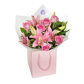 Flower bouquet Rose and Lily Classic