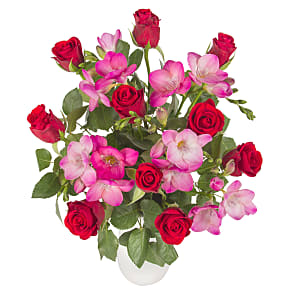 Flower bouquet Hot Blush