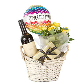 Gift delivery Congratulations Gift Basket