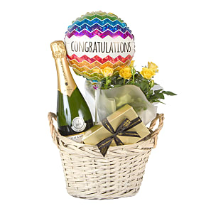 Gift delivery Congratulations Gift Basket Deluxe