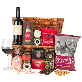Gift delivery The Red Wine Hamper