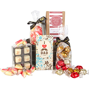 Gift delivery Dads Chocolate Hamper