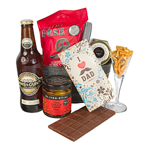Gift delivery Dads Beer Hamper