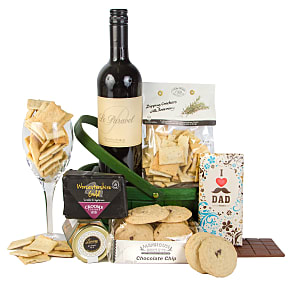 Gift delivery Dads Wine Hamper