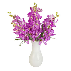 Flower bouquet Purple Mokara Orchids