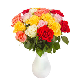 Flower bouquet 20 Mixed Roses