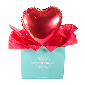 Gift delivery Heart Balloon Gift